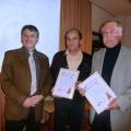 Fussball-Oscar 2008: Volker Kahler und Hermann Maier